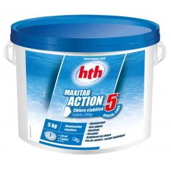HTH MAXITAB 200g - ACTION 5 (Spécial liner)