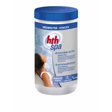 HTH SPA OXYTAB PASTILLE 20g (Oxygène actif)