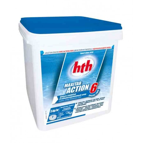 HTH MAXITAB 200g - ACTION 6 (Spécial liner)
