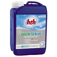 HTH GREEN TO BLUE EXTRA SCHOCK 5L (Liquide sans chlore)