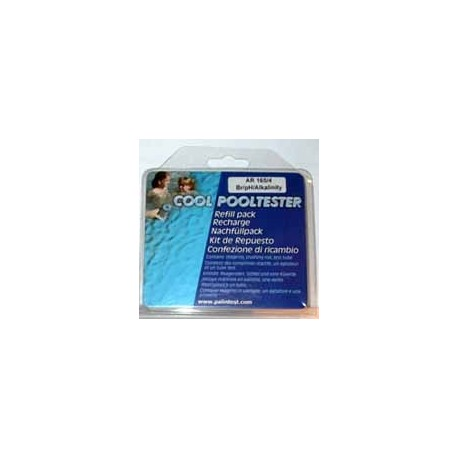 RECHARGE COOL POOLTESTER PALINTEST Br pH Tac