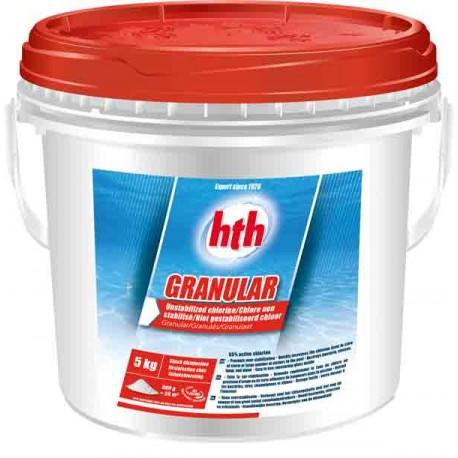 HTH GRANULAR (chlore inorganique)