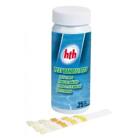 TEST LANGUETTE HTH Cl pH Br Tac Ca