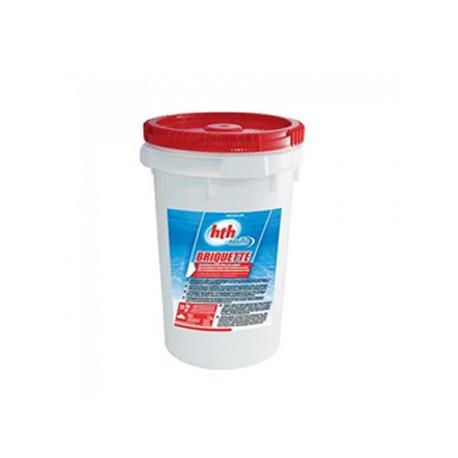 HTH BRIQUETTES 7g easiflo (chlore inorganique) 25 Kg