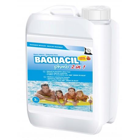 BAQUACIL PHMB 2EN1 3L (Désinfectant liquide sans chlore)