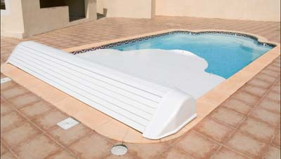 Couverture piscine hors- sol automatique Igloo II