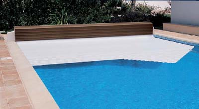 Couverture piscine hors- sol automatique Thermodeck