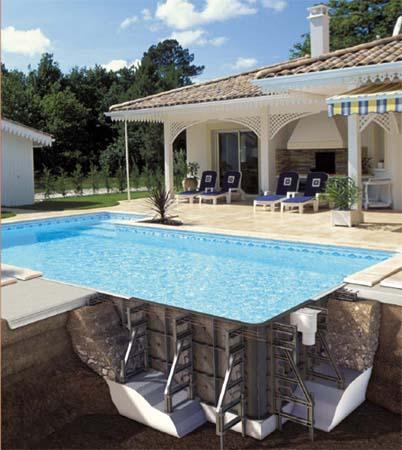 piscines en panneaux de r sine smafi24 produits piscine. Black Bedroom Furniture Sets. Home Design Ideas